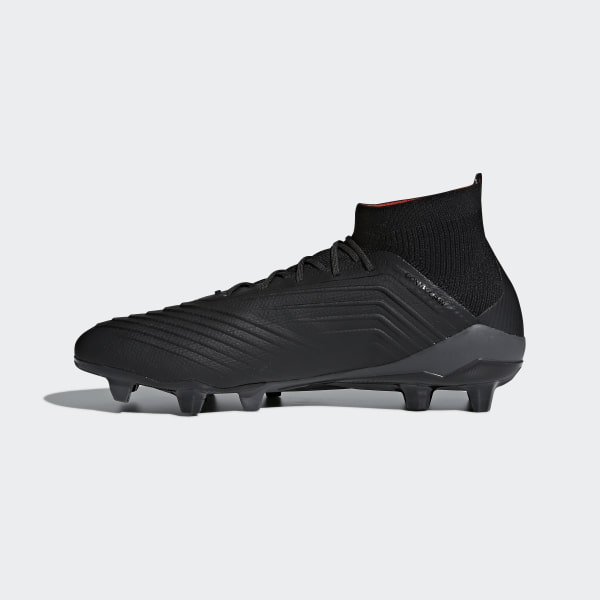 82a5ab1b0865 Predator 18.1 Firm Ground Boots Core Black / Core Black / Real Coral CM7413