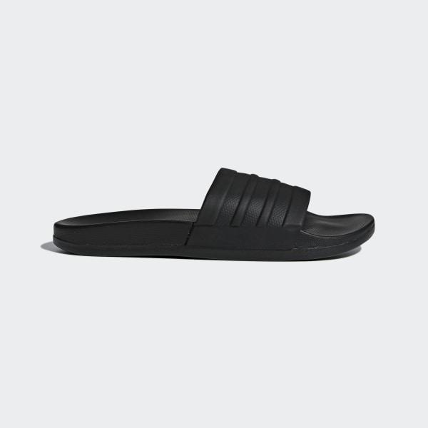 outlet store b7918 1691a Adilette Cloudfoam Plus Mono Slides Core Black   Core Black   Core Black  BB1095