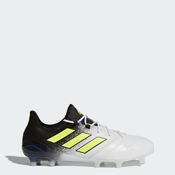 e1464fc7e adidas Men s ACE 17.1 Leather Firm Ground Cleats - White