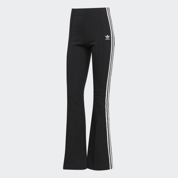c90a6a9086f adidas Flared Tracksuit Bottoms - Black | adidas UK