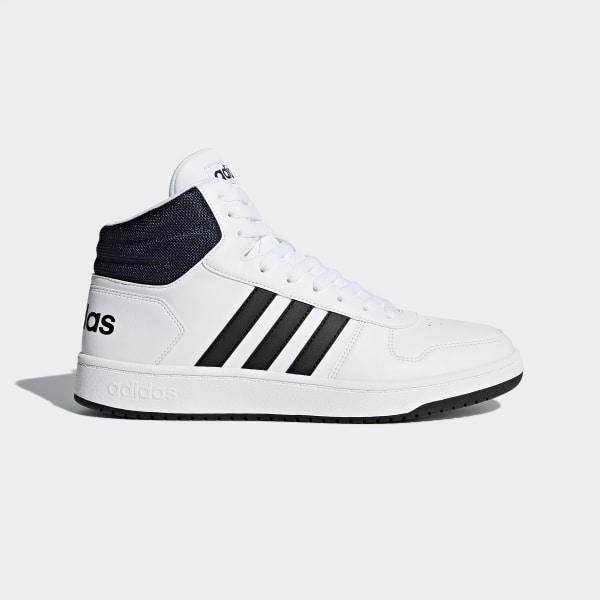 fce02c456e0 Hoops 2.0 Mid Shoes Cloud White   Core Black   Collegiate Navy DB0080