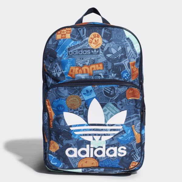 e0871d7571 adidas Sticker Backpack - Πολλαπλά Χρώματα