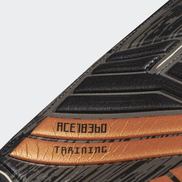 2fce49c67bfa Predator 18 Training Goalkeeper Gloves Black / Solar Red / Copper Gold  CF1364