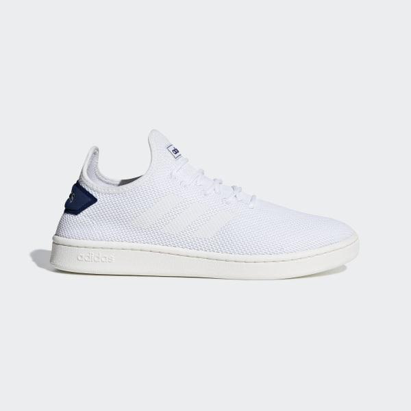 ff237581 Court Adapt Shoes Ftwr White / Ftwr White / Dark Blue F36416