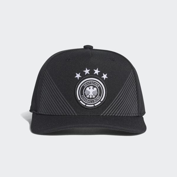 79c07d5decaa adidas Gorra Selección de Alemania Local Visera Plana 2018 - Negro | adidas  Colombia