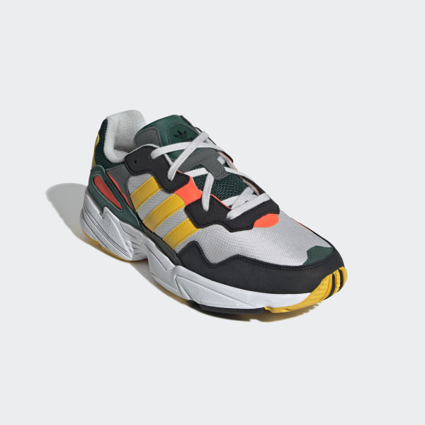 uk availability 0213c 3dc89 Yung-96 Shoes Grey One   Bold Gold   Solar Red DB2605