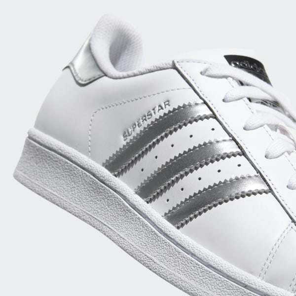 1a594571810 Superstar Shoes Cloud White / Silver Metallic / Core Black AQ3091