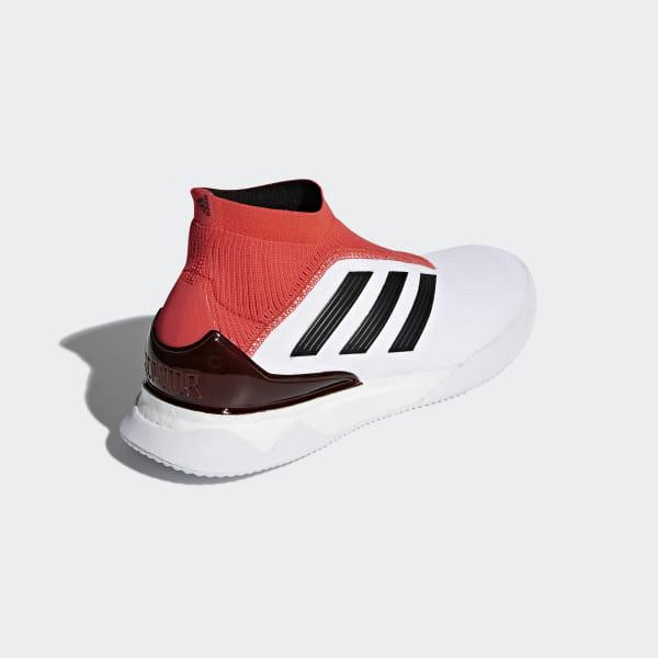 bdbc8e94aabc Predator Tango 18+ Shoes Ftwr White / Core Black / Real Coral CM7686