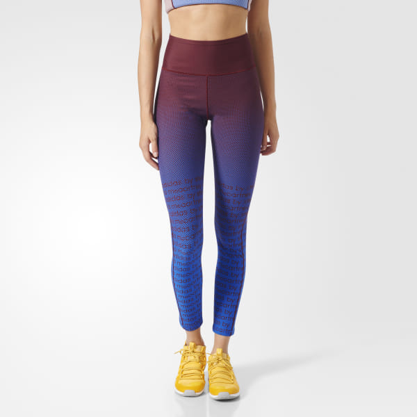 6427ee2e38a9b adidas Training Miracle Sculpt Tights - Red | adidas Canada