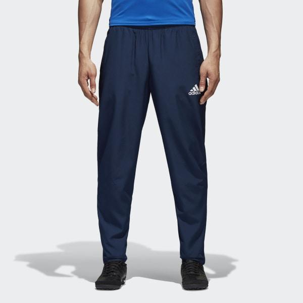 091838de Tiro 17 Pants Collegiate Navy / White BQ2793