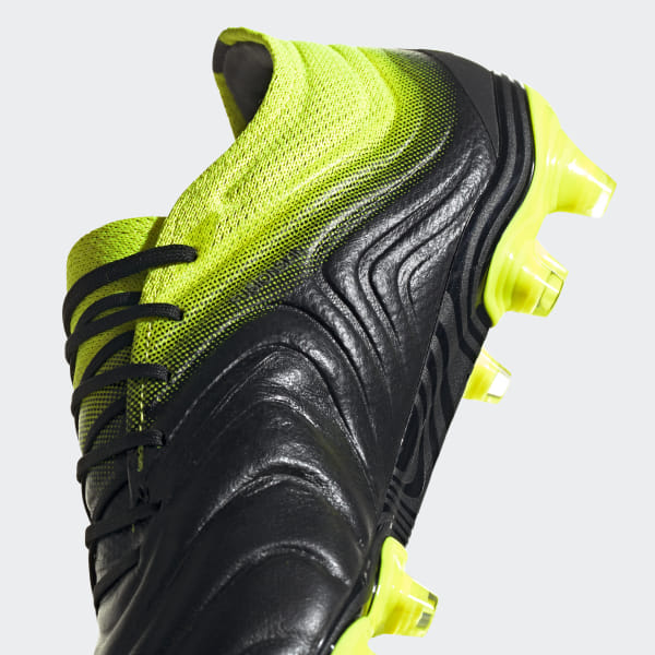 24ed172bf4c Copa 19.1 Firm Ground Boots Core Black   Solar Yellow   Core Black BB8088