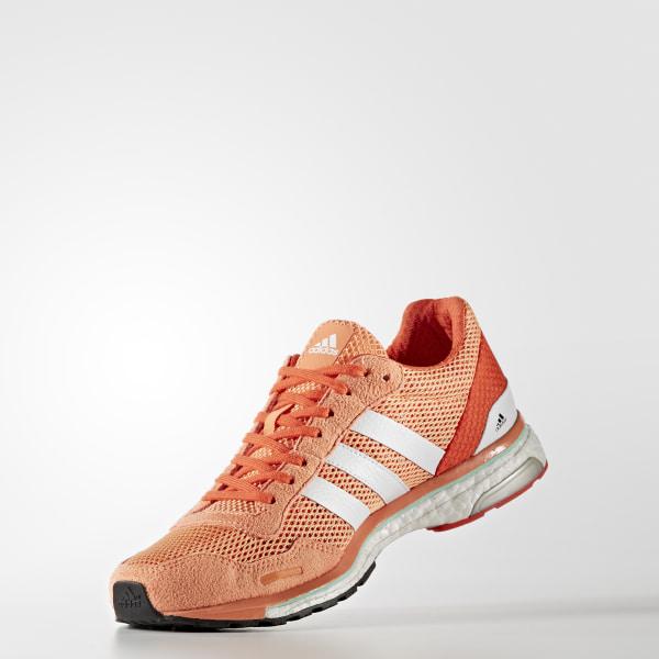 adidas Adizero Adios Schuhe Women easy orange white energy