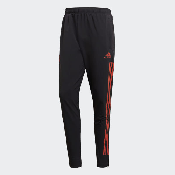 f237d784b Real Madrid Ultimate Training Tracksuit Bottoms Black   Real Coral CW8679