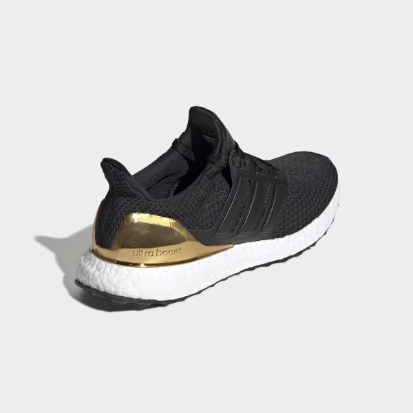 adidas ultra boost black and gold