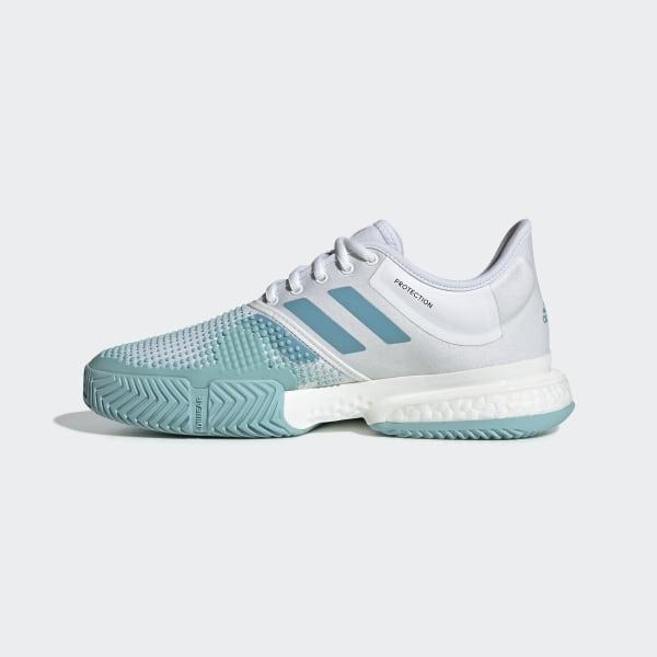 Chaussure SoleCourt Boost Parley Beige adidas | adidas France