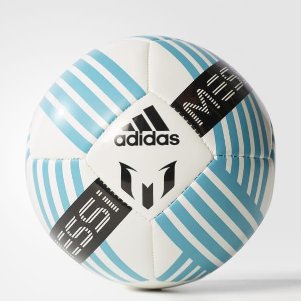 41e01aa878f Messi Glider Mini Ball White / Energy Blue / Black BQ1367