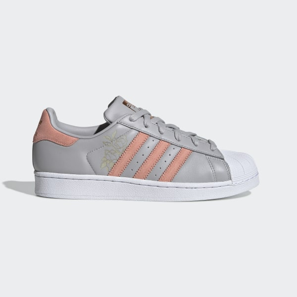 info for 014f3 c8905 Superstar Shoes Grey Two   Trace Pink   Cloud White CG5994