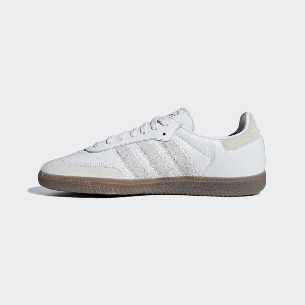 7135635d5 Samba OG FT Shoes Crystal White / Raw White / Gold Metallic BD7527
