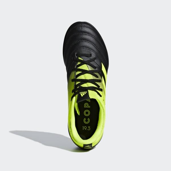 ab35bfaf4 Copa 19.3 Turf Boots Core Black / Solar Yellow / Solar Yellow D98085