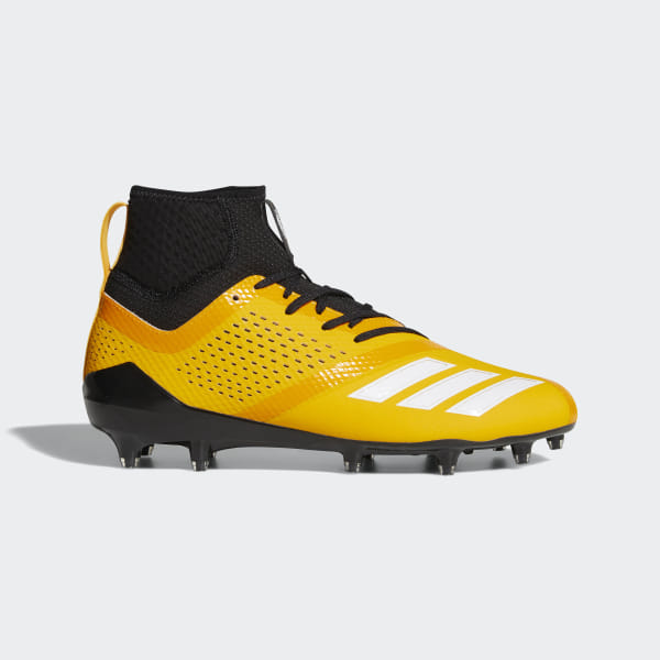 e1648e829642 Adizero 5-Star 7.0 SK Cleats Collegiate Gold / Core Black / Cloud White  DB0406