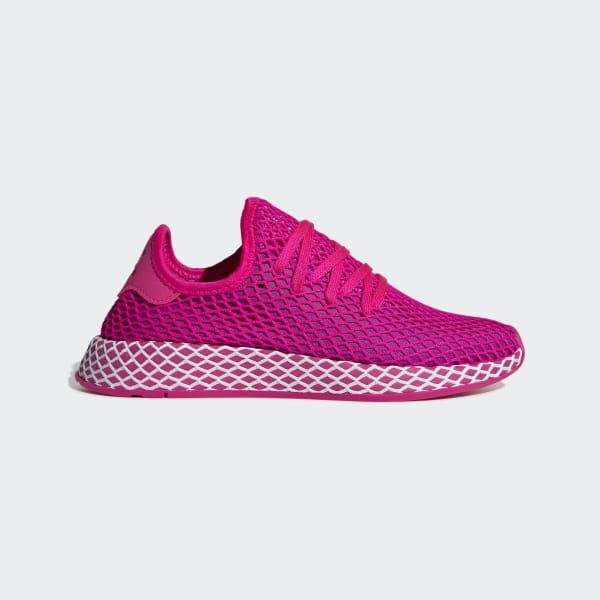 136c51764c Deerupt Runner Shoes Shock Pink / Vivid Pink / Cloud White CG6090