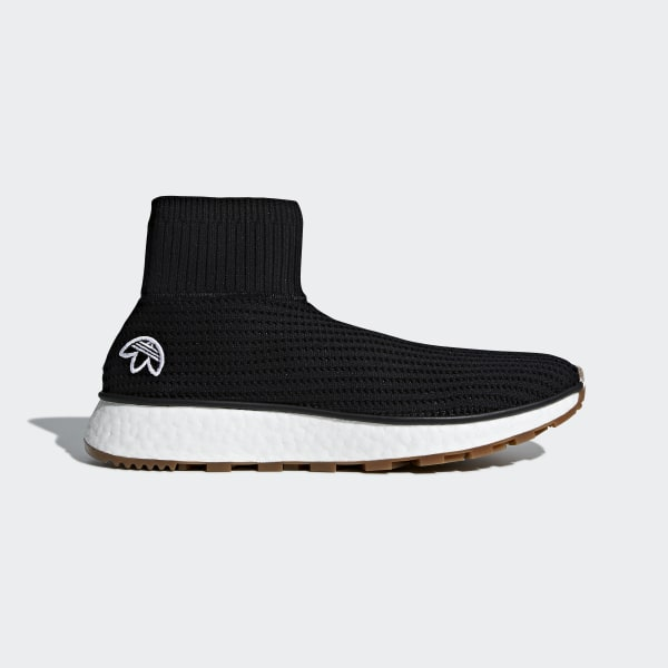 buy popular fef21 7ed8e adidas Originals by Alexander Wang Run Clean Shoes - Black | adidas  Australia