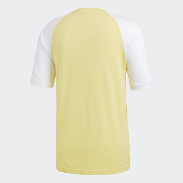 8072f19c7d5ee adidas 3-Stripes Tee - Yellow | adidas US
