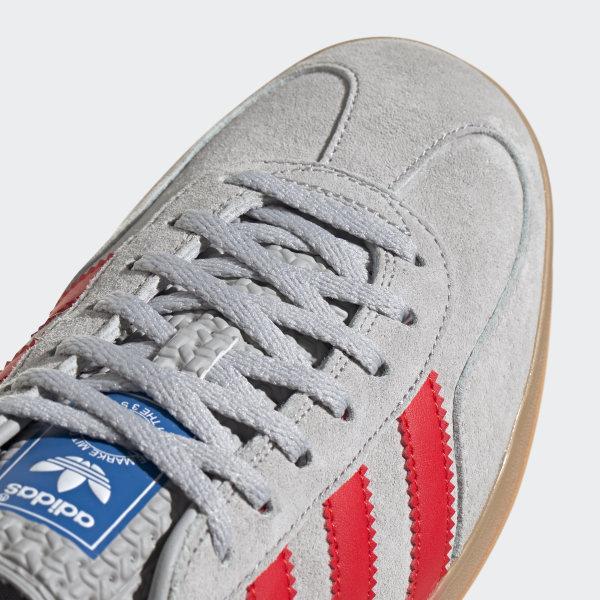 magasin en ligne ce56a 19de4 adidas Gazelle Indoor Shoes - Grey | adidas Belgium
