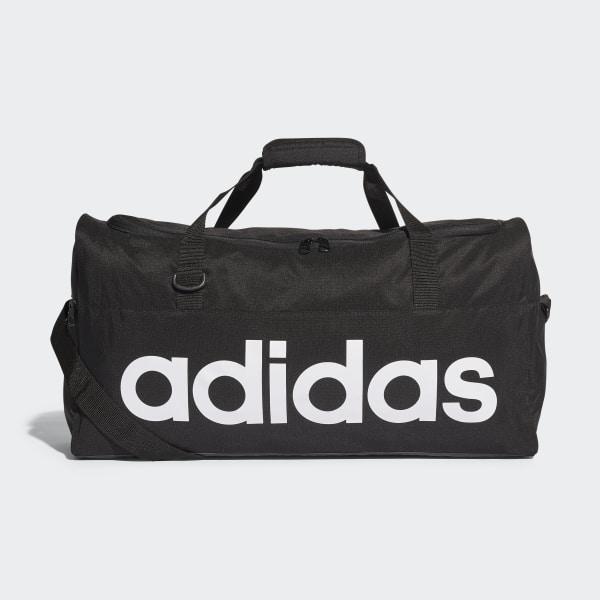 e342bba81 adidas Bolsa de deporte mediana Linear - Negro   adidas Colombia