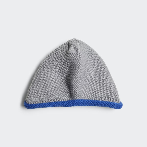 4c31e5323 Beanie Medium Grey Heather / Blue / White DM5539