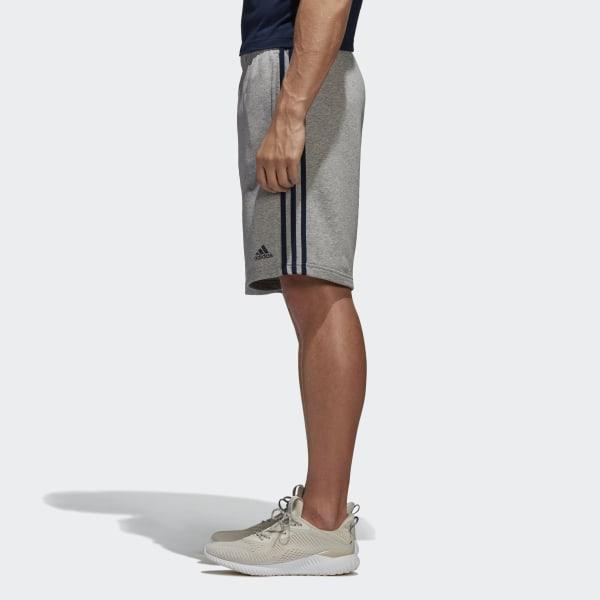 adidas Essentials 3 Streifen Shorts Grau | adidas Switzerland