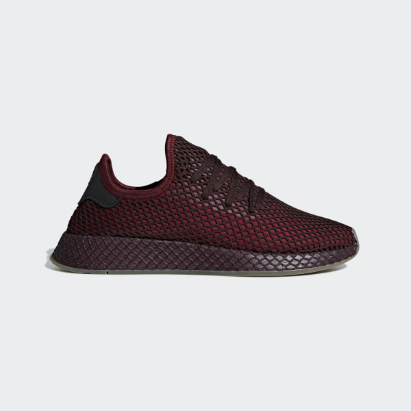 7e8993055db42 Buty Deerupt Runner Collegiate Burgundy / Collegiate Burgundy / Ash Green  B41773