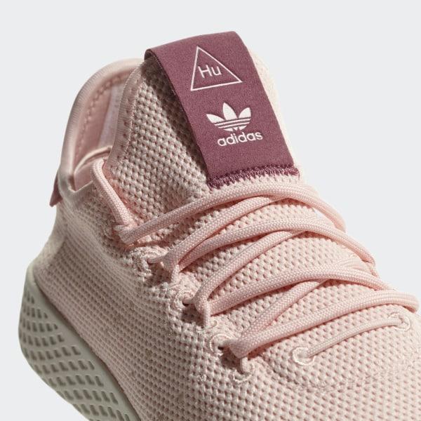 07cf6819 adidas Pharrell Williams Tennis Hu Shoes - Pink   adidas US