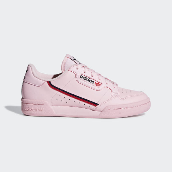 official photos bf054 58d56 Continental 80 Shoes Clear Pink   Scarlet   Collegiate Navy F99789