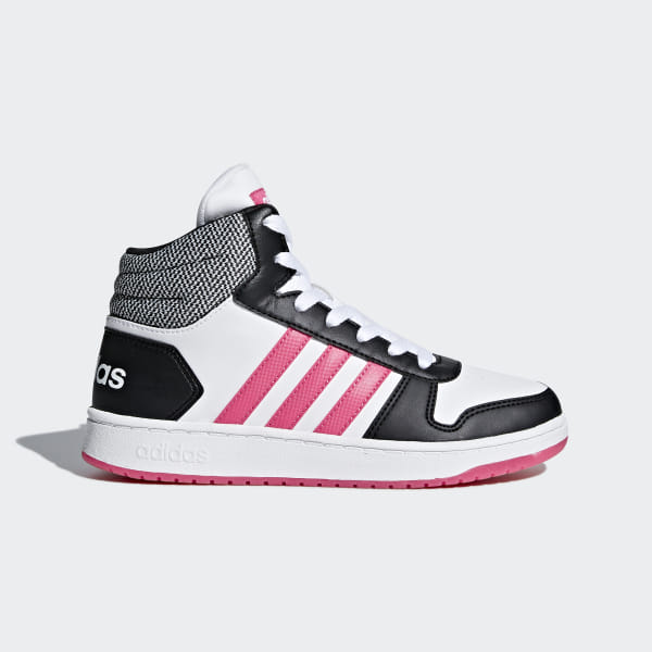 a18691b4 Tênis VS Hoops Mid 2.0 CORE BLACK/REAL PINK S18/FTWR WHITE DB1949