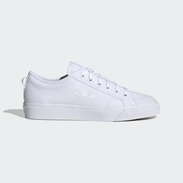 adidas Nizza Trefoil Shoes White | adidas US