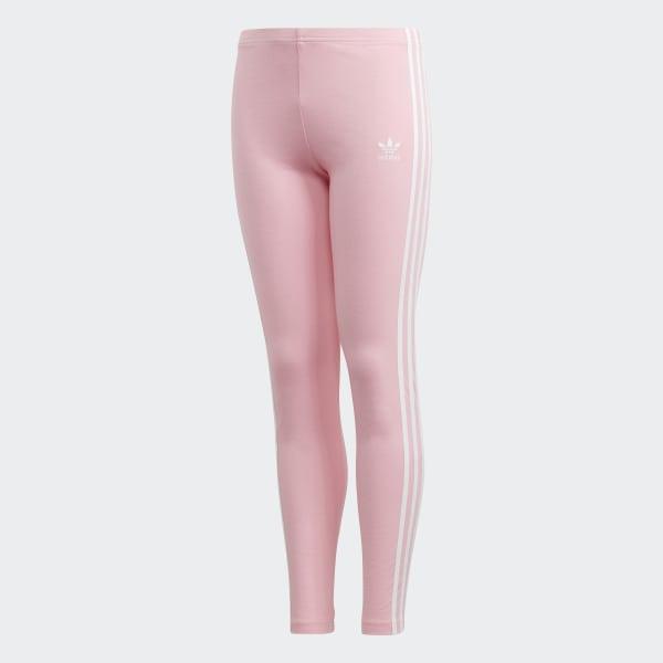 b29d3453e14 3-Stripes Leggings Light Pink   White DH2663