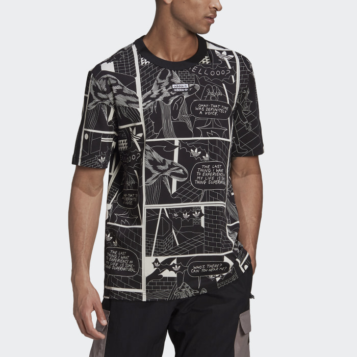 T-shirt R.Y.V. Graphic Noir Hommes Originals
