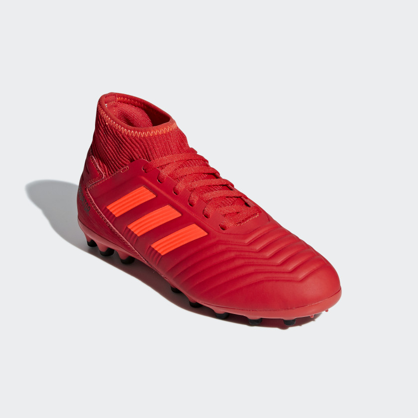 fast delivery newest premium selection Terrain 19 3 Predator Chaussure Adidas Synthétique Rouge ...