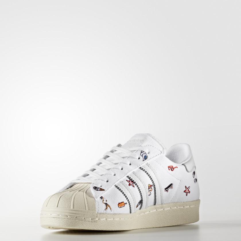Qcfoxhwn Superstar Bianco Adidas Italia Scarpe 80s 17wfHxq6