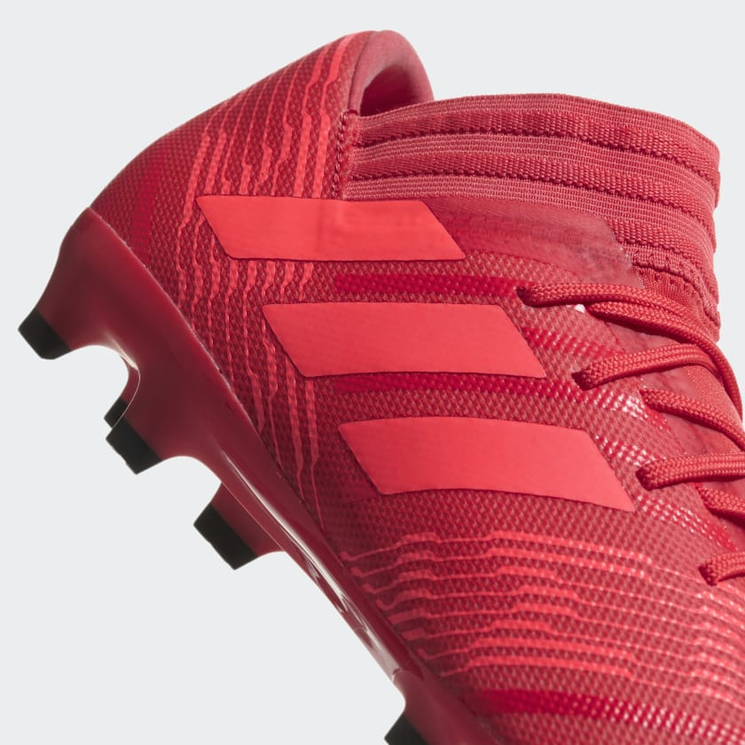 hot sale online ed01a 7c014 ... core Zest Calcio Scarpe 17 Firm red Nemeziz Da Coral Uomo 3 Real Black  Ground ...