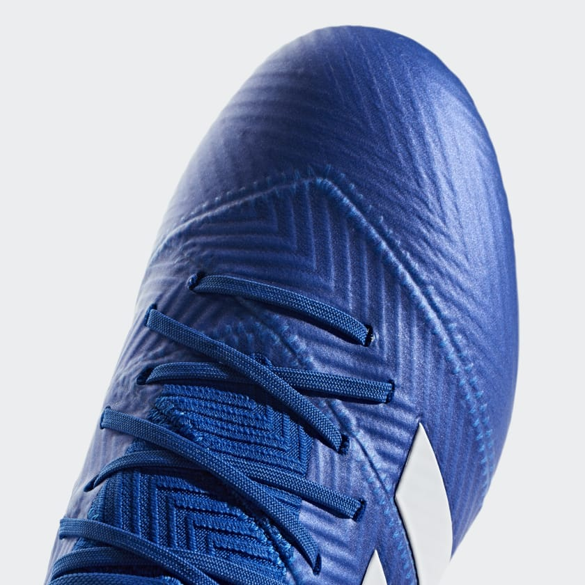 Bambini Calcio Scarpe Da Nemeziz 18 1 Firm Ground Football Blue Ftwr White