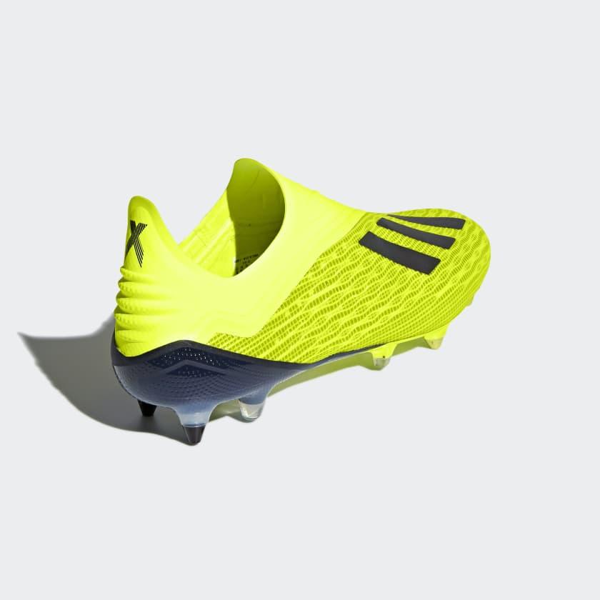 Calcio Scarpe Da X 18 Soft Ground Solar Yellow Core Black Ftwr White
