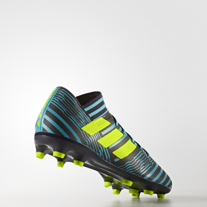 Uomo Calcio Scarpe Da Nemeziz 17 3 Firm Ground Legend Ink solar Yellow energy Blue
