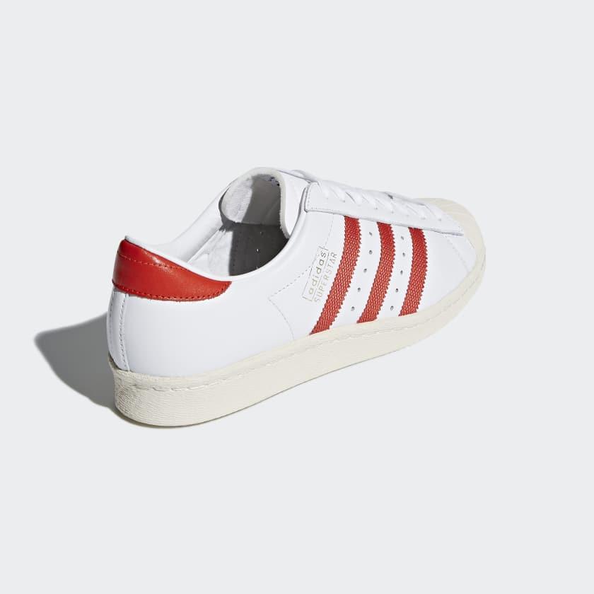 Uomo Originals Scarpe Superstar Og Ftwr White core Red off White