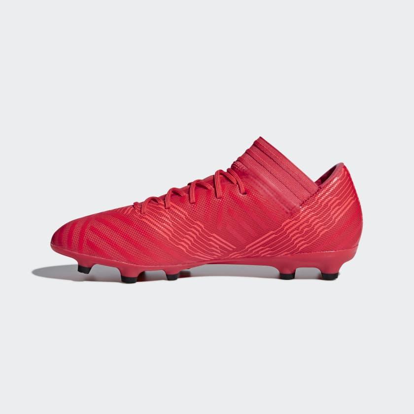 core Zest Calcio Scarpe 17 Firm red Nemeziz Da Coral Uomo 3 Real Black Ground