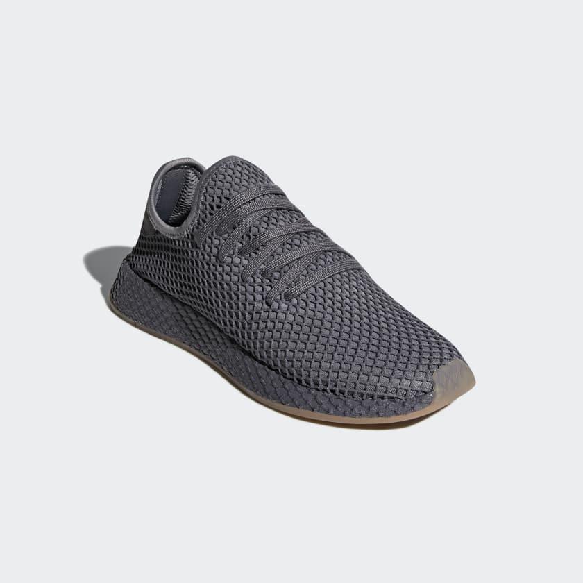 Deerupt Runner Trainers In Grey CQ2627 - Grey adidas Originals xvruz3pG6
