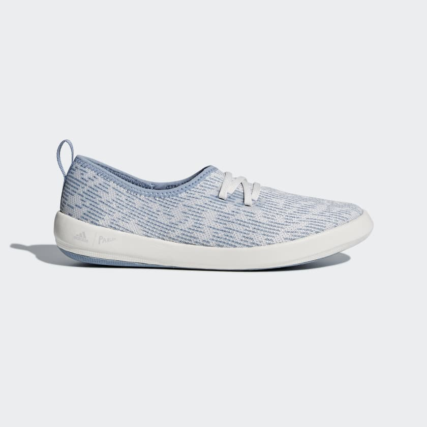 Terrex Parley Donna White chalk tactile Climacool Scarpe Boat Adidas Blue Blue Mystery
