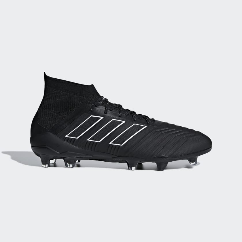Black Firm Ftwr Da Ground 1 Predator 18 White Scarpe Core Calcio