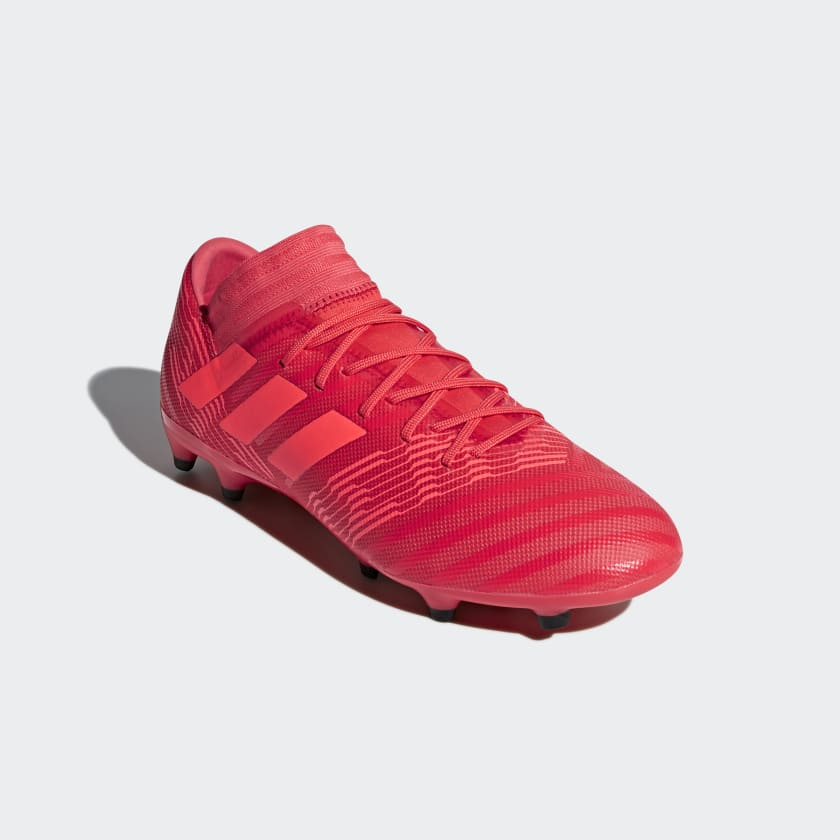 hot sale online 90f65 ab1c9 ... core Zest Calcio Scarpe 17 Firm red Nemeziz Da Coral Uomo 3 Real Black  Ground ...